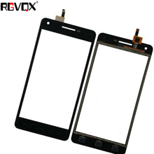 цена на New Touch Screen For PHILIPS V377 377 Digitizer Front Glass Lens Sensor Panel Replacement
