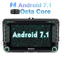 Wholesale 2GB RAM Android 6 0 7 Inch 2 Din Car DVD Player For VW Skoda
