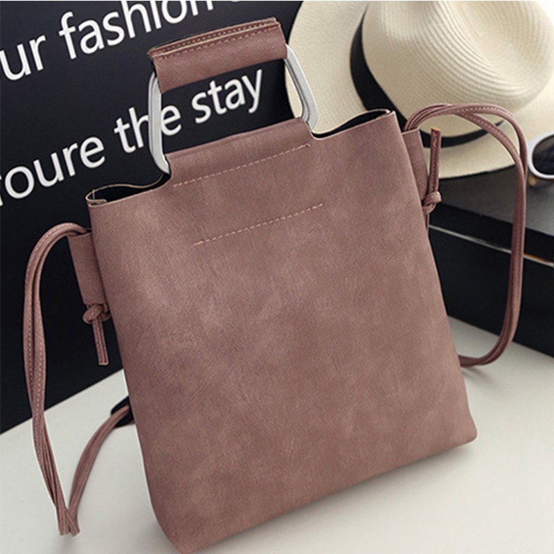 Women's Handbags Women Leather Purses Shoulder Bag Ladies Messenger Crossbody Bag Fashion Black Clutch Bags Bolsa Feminina Gift 2016 new women leather handbags fashion shoulder bag high quali women s messenger bags ladies crossbody bag clutch wallet 2 sets