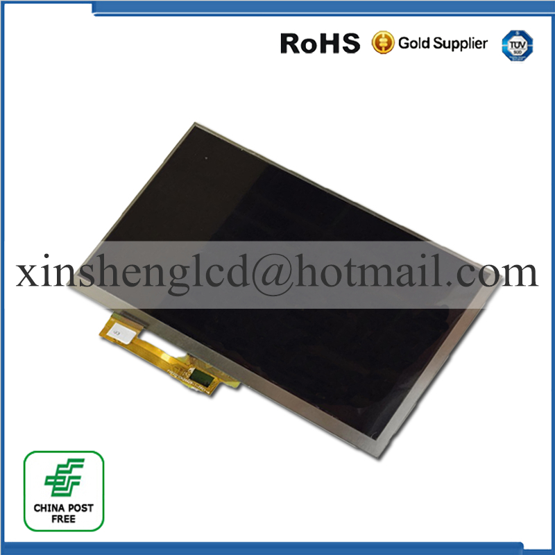 New LCD Display Matrix For 7 Archos 70b Copper TABLET inner LCD Display 1024x600 Screen Panel Frame Free Shipping new lcd display matrix for 7 nexttab a3300 3g tablet inner lcd display 1024x600 screen panel frame free shipping