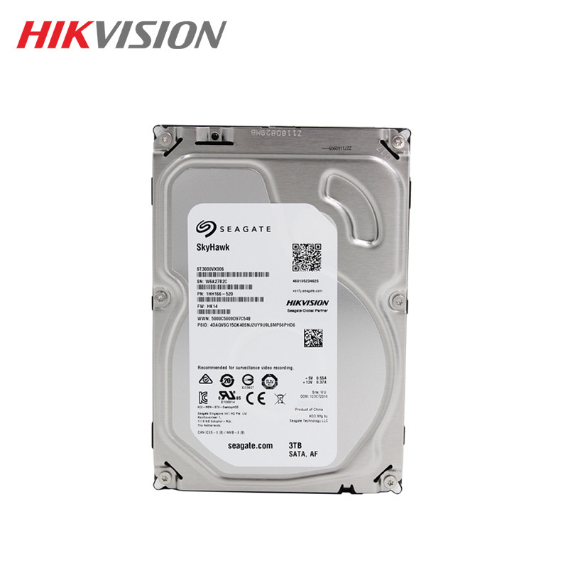 Seagate 3TB hikvision Video Surveillance HDD Internal Hard Disk Drive 5900 RPM SATA 6Gb/s 3.5-inch 64MB Cache  HDD For Security wd purple 4tb hdd surveillance hard disk drive 5400 rpm class sata 6 gb s 64mb cache 3 5 inch wd40purx