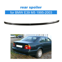 Carbon Fiber Rear Lip Spoiler Wings Auto Car Trunk Spoiler for BMW E39 M5 1995 2003