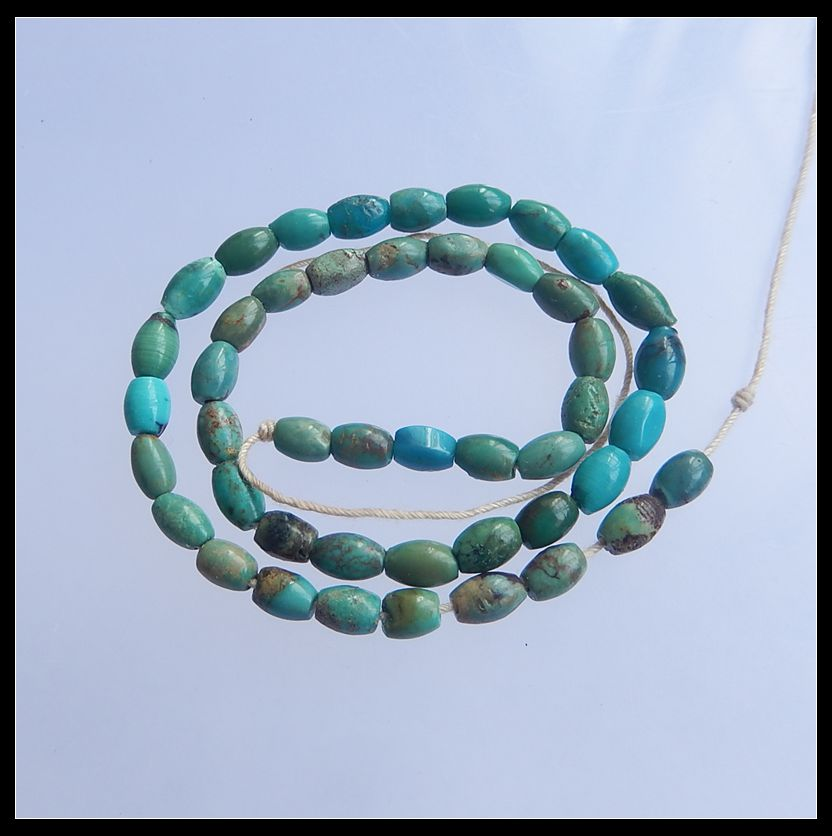Natural Stone Turquoise Trendy Necklace Pendant Beads Gemstone length 26.5cm 6.1g trendy layered teardrop turquoise geometric chain tassel necklace