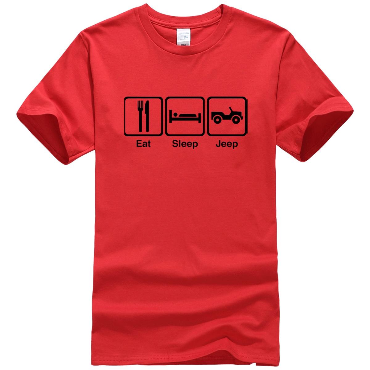 Casual T-shirt For Men 2019 Summer Short Sleeve Cotton T Shirt Men Print EAT SLEEP Funny Tshirt Brand Top Tee Shirts Harajuku