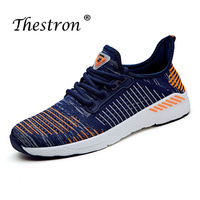 Couples Running Shoes Blue Trainers Rubber Bottom Man Sneakers for Sport Spring Summer Athletic Footwear Male Light Track Shoes