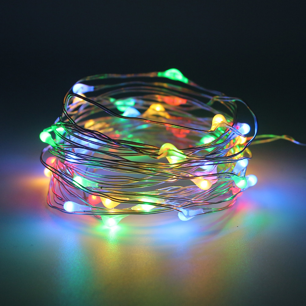 DC5V Led Starry String Light 5M 10M USB Powered Copper Wire Fairy String Lights indoor/outdoor holiday garden decoration
