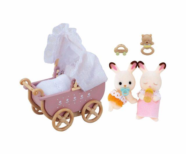 Tienda Online Genuino sylvanian Families bebé gemelos miniatura ...