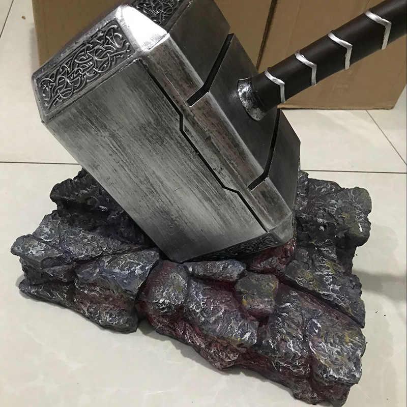 20 см Marvel Мстители Тор молот игрушки танос костюмированная игра Тор молот Детские Рождественские подарки подарок на день рождения Коллекция украшения