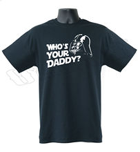 Darth Vader Who's Your Daddy Star Wars Funny Mens T-Shirt S-XXL Sizes Free shipping  Harajuku Tops Fashion Classic Unique стоимость