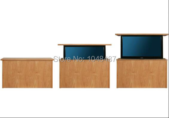 42inch led modern tv lift cabinets and recruit agent for lift tv free shipping