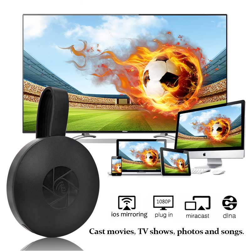 MiraScreen G2 TV Stick Dongle Anycast Wireless HDMI WiFi Display Receiver Miracast Media Player Mini PC Android TV