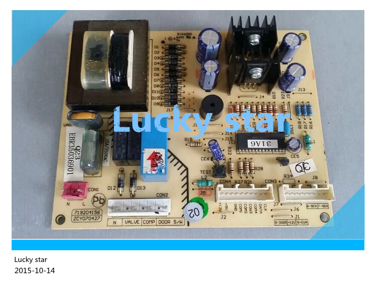 95% new for LG refrigerator computer board circuit board BCD-225NCQ(GR-Q23NCL) EBR35036901 board good working