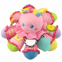 LeadingStar Creative Cotton Octopus Toy Multiple Functions Stimulate Baby S Creativity Infant Bed Or Stroller Bell