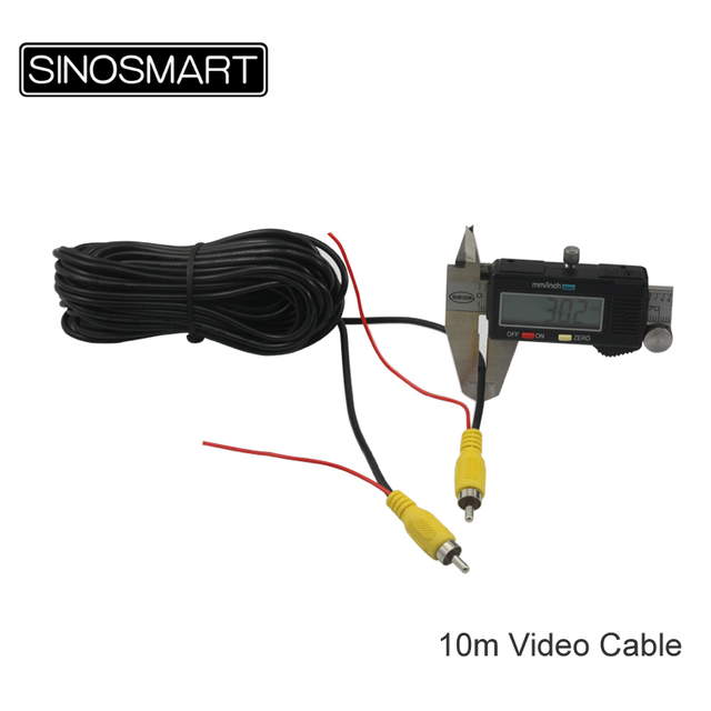Sinosmart In Stock 100% Copper RCA Video Cable with Shielded Ground ...