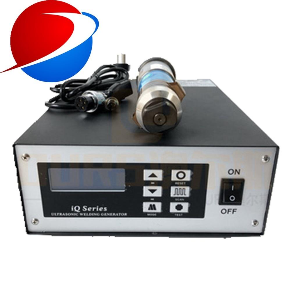 2000w High Power Ultrasonic  Welding Machine 20khz With 1 Transducer