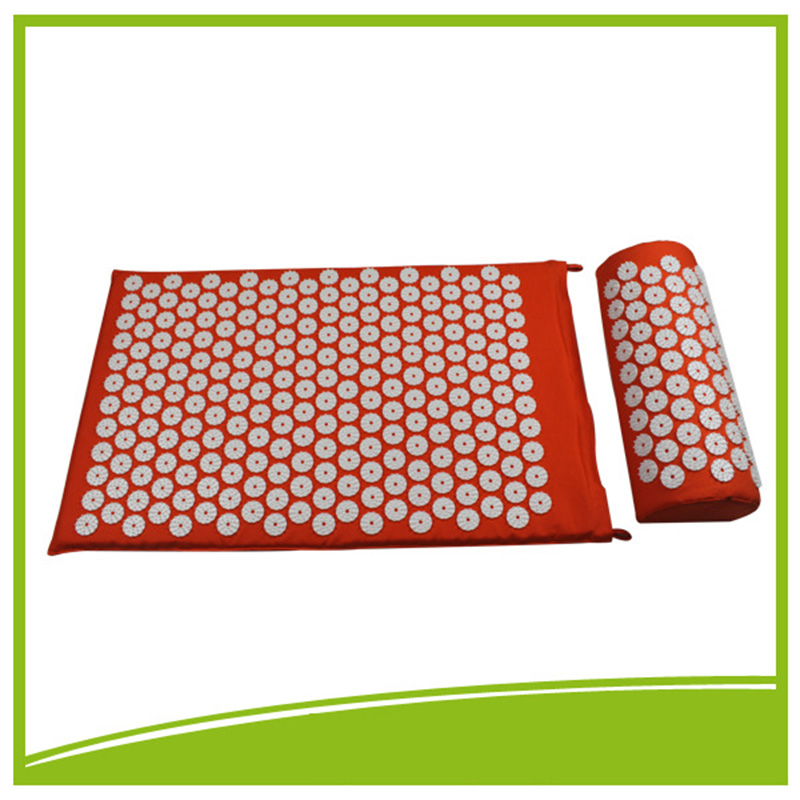 New!!Back and Neck Pain Relief Acupressure Mat and Pillow Set - Relieves Stress, Back, Neck, and Sciatic Pain Massage Orange mohd mazid and taqi ahmed khan interaction between auxin and vigna radiata l under cadmium stress