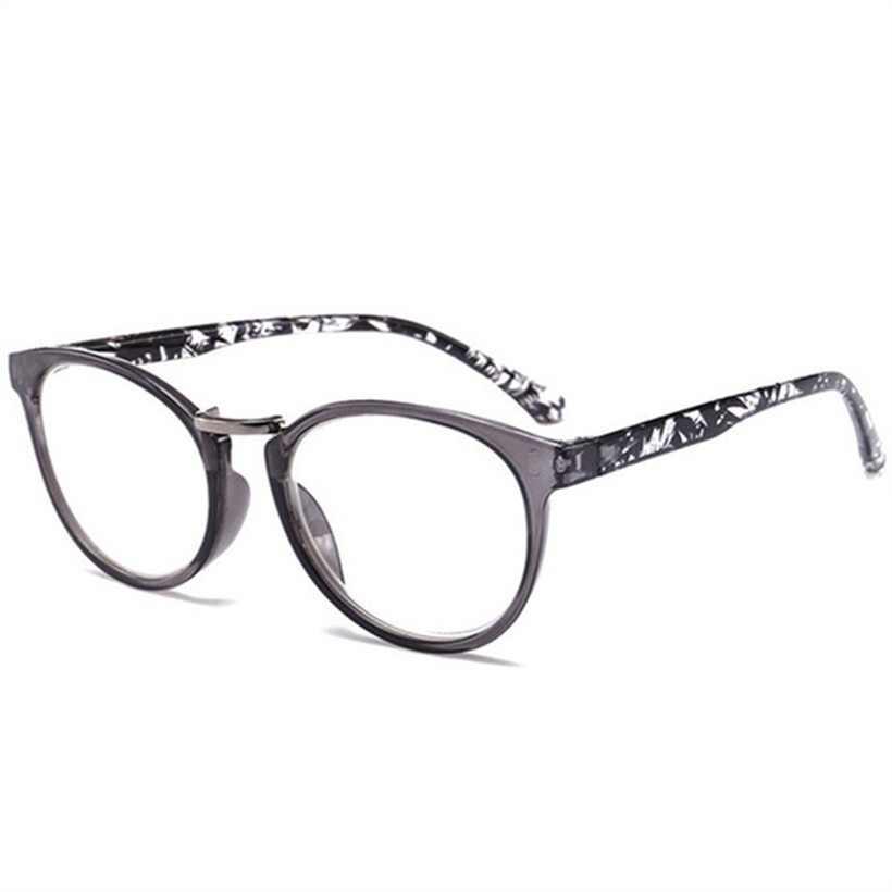 3e1fd3178c0 YOOSKE Women Cat Eye Reading Glasses Vintage Presbyopia Eyeglasses Fashion  Flower Print Diopter +1.5 +
