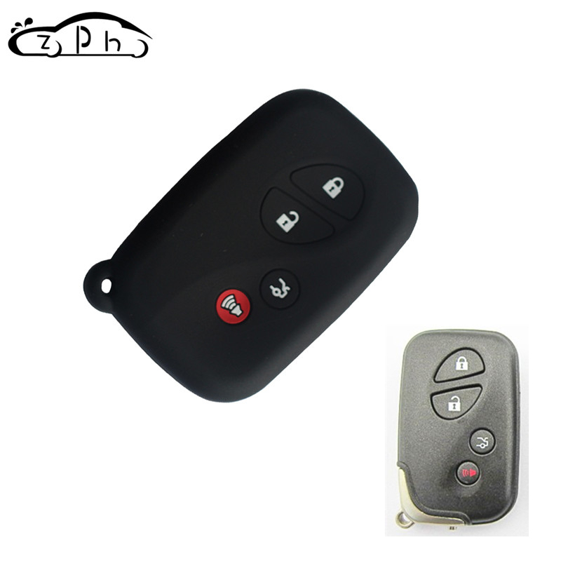 Silicone Car Key Case Cover Set For LEXUS RX LX GX Smart Remote KeyLess Enter Silica Gel Car StyLing 4 Buttons Free Shipping
