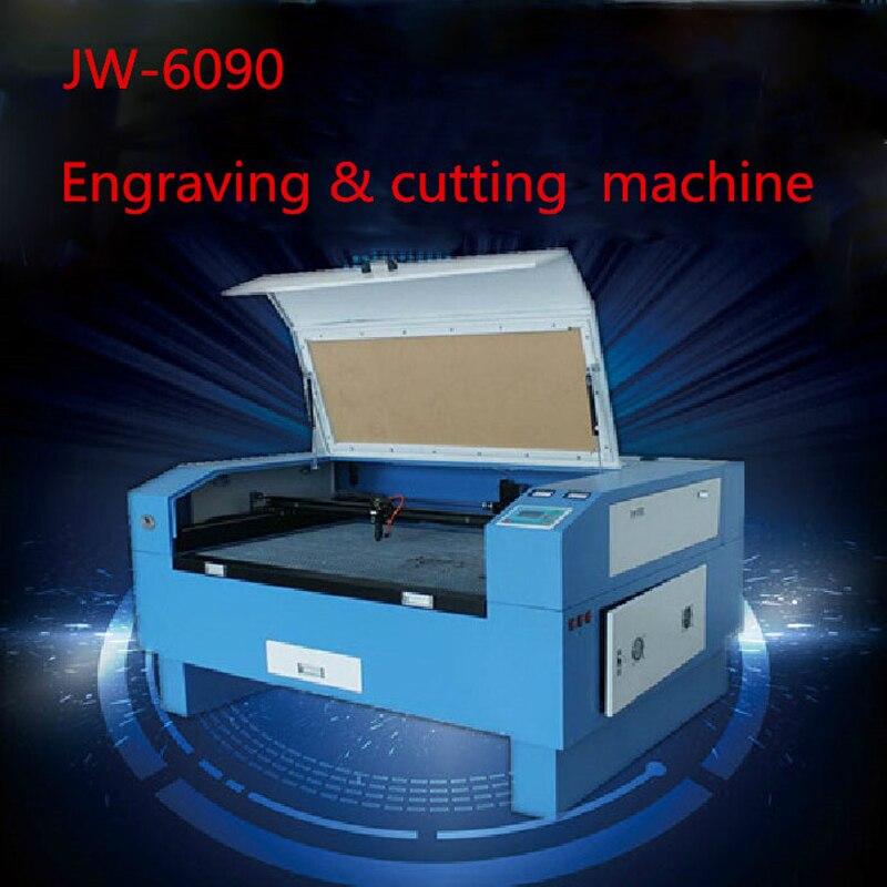 Version JW-6090 Laser Co2 60 W hors CNC Laser Machine Laser gravure Machine découpe machine gravure vitesse 0-60000 mm/min