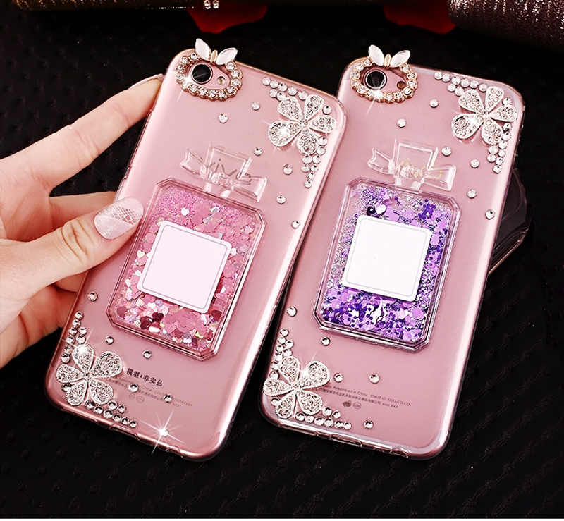 Dynamic Liquid Quicksand Glitter Phone Case Cover For HTC Desire 12 U11 EYES Plus 10 Pro ...