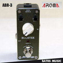 MINI Effect Pedal/Aroma ABR-3 Booster AC/DC Adapter Jack True bypass