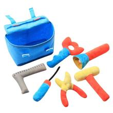 Набор инструментов для ремонта детей, ролевые игры, экологичные мягкие игрушки для обслуживания детей, инструменты для стимуляции, игрушки для детей, классические подарки