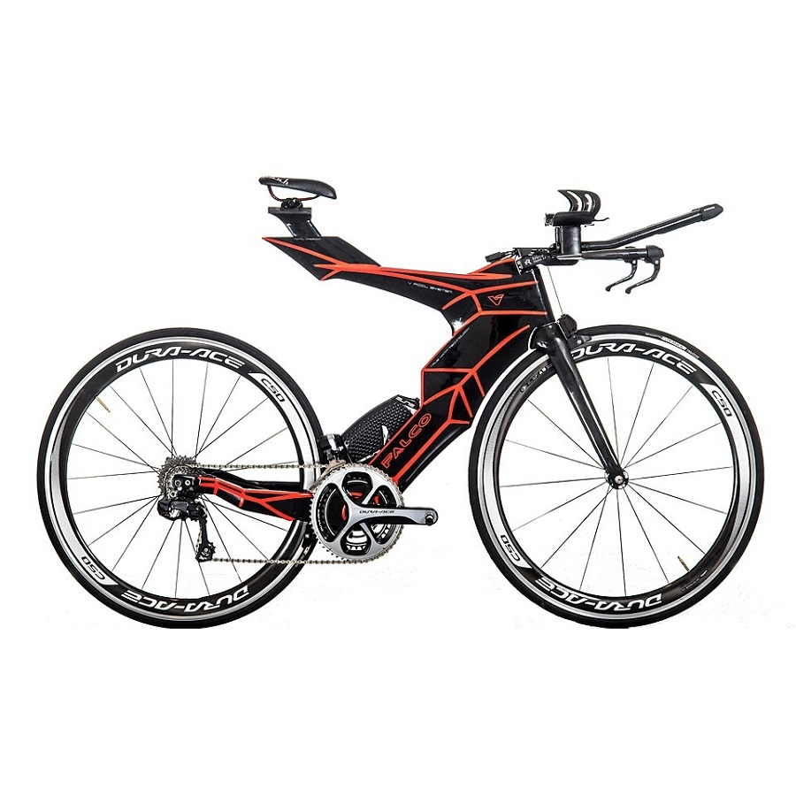 FALCO V Bike time trial frame 2019 Di2 Carbon tt frame Carbon triathlon bikes Carbon Frameset with TRP Brakes 50/54/57cm