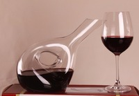 1PC Crystal Red Wine Pourer Glass Decanter Brandy Decant Set Jug Bar Champagne Water Bottle Drinking Glass JS 1104