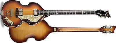 Hofner Violin Bass 62 NEW Paul McCartney Replica Guitar Hard Case H5001620