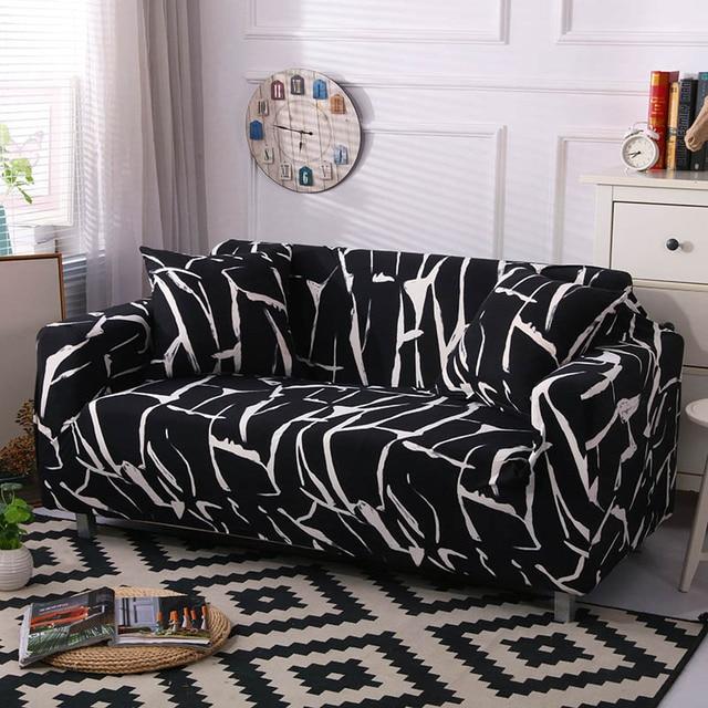 Sofá elástica Envoltório Cobertura All-inclusive Apertado Sofá Secional sofá Loveseat Sofá de Canto Capa Slipcover sofá pará cogines cubre