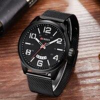 CURREN 8236 Luxury Brand Analog Display Date Men S Quartz Watch Casual Watch Men Watches Relogio