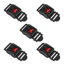 5pcs Motorcycle Helmets Speed Clip Chin Strap Quick Release Disconnect