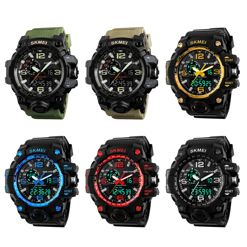 Sports Watch Waterproof Electronic Multi-Function Outdoor Large Men's Fashion