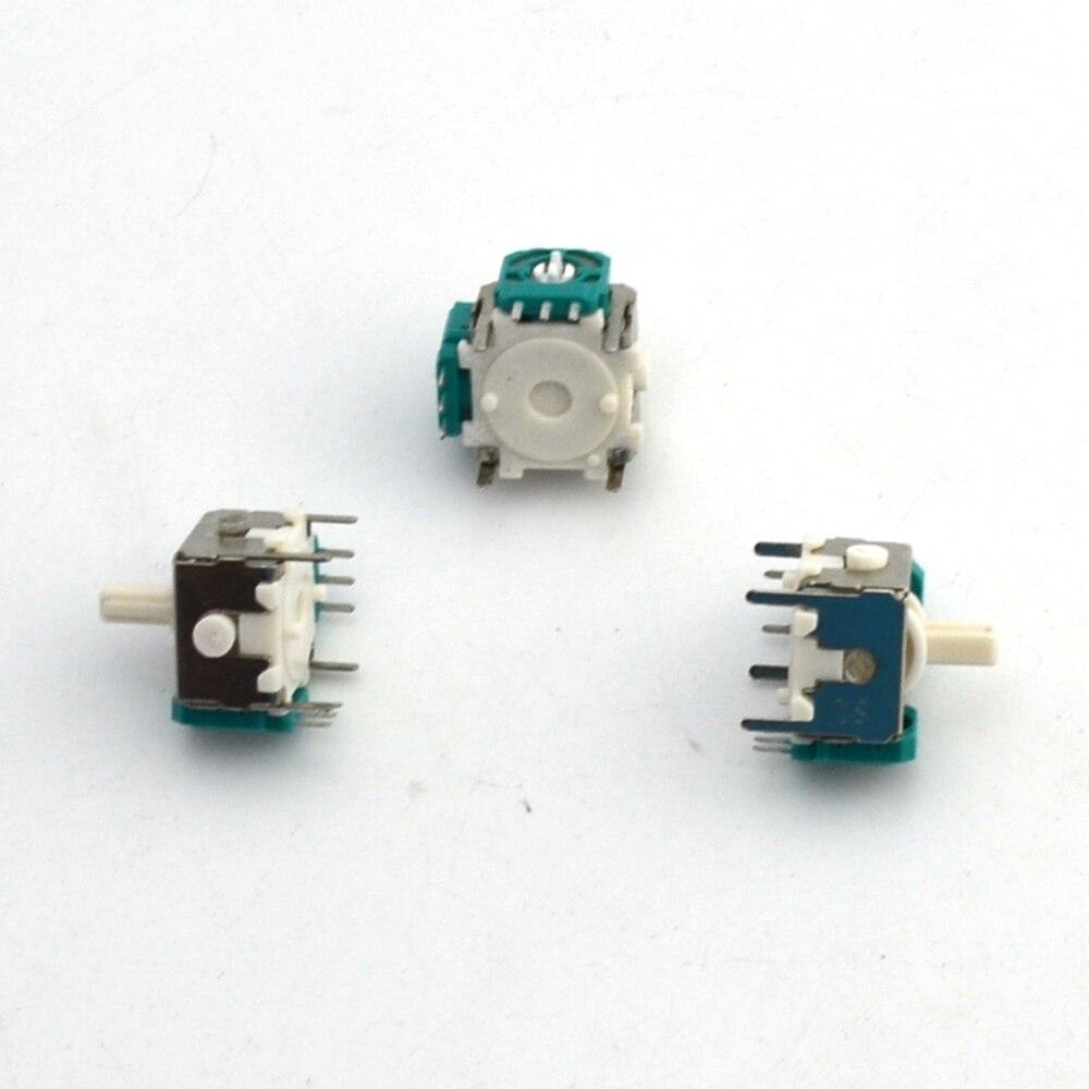 2pcs a lot Replacement 3d Analog Joystick for NGC for gamecube Controller Repair Parts