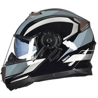 GXT BRAND Double Lens Motorcycle Helmet For Adults M L XL Size Availabel DOT Motobike Helmet