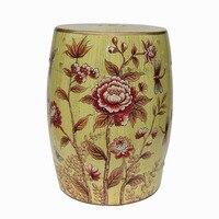 Модные Керамический Барабан стула туалетный стул изменить табурет обуви модные аксессуары для дома украшения подарок на новоселье