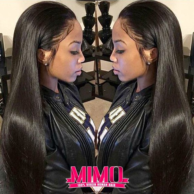 7A Malaysian Virgin Hair Straight 3 Bundles  Unprocessed Malaysian Straight Virgin Hair Queen Hair Products Malaysian Human Hair