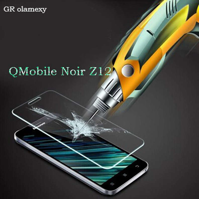 2.5D Anti-Explosion Tempered Glass / Soft Nano Screen Protector for QMobile Noir Z12 Mobile phones Films Guards Membrane image