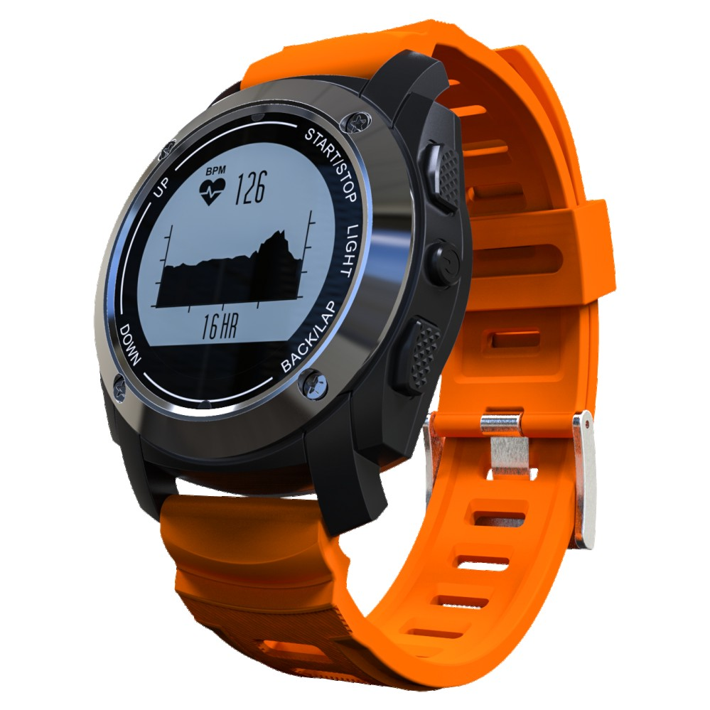 Smartch S928 Bluetooth Smart Watch GPS Smart Band Heart Rate Height Race Monitor Speed Outdoor GPS