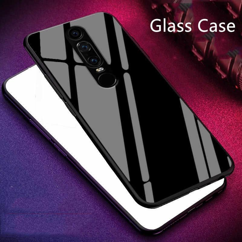 Xinchentech Đối Với Huawei Mate RS PORSCHE THIẾT KẾ Glass Trường Hợp Luxury silicone Khung mềm + Glass Cover Quay Lại Phụ Kiện Cho Maters Vỏ
