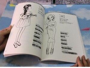 Image 5 - 92 דפים אופנה ילדה צביעת ספר לילדים מבוגרים להקל על לחץ גרפיטי סוד גן ציור ספרי ציור