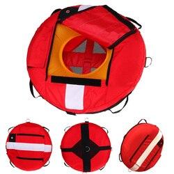 Buoy de entrenamiento de buceo libre Buoy Diver Down bandera flotador marcador de seguridad Buoyancy Signal Float Diving Gear accessroy