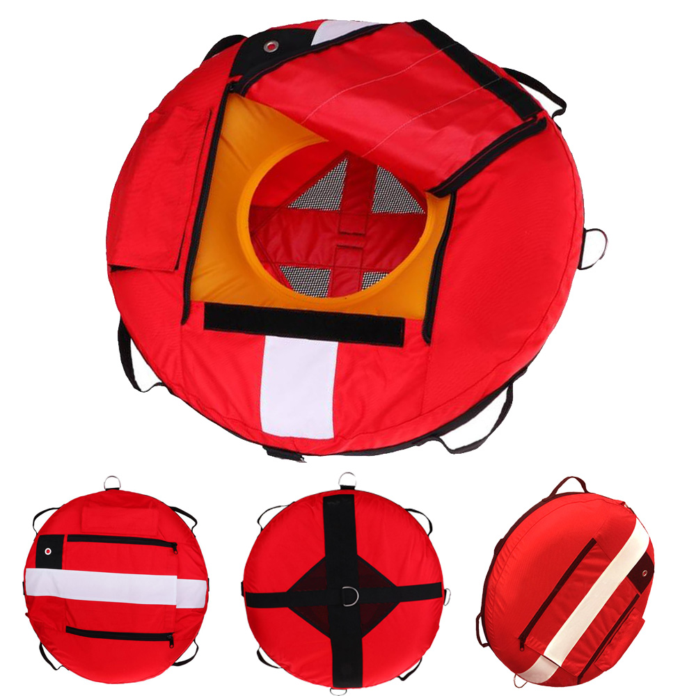 Scuba Diving Freediving Training Buoy Diver Down Flag Float Marker Safety Buoyancy Signal Float Diving Gear Accessroy