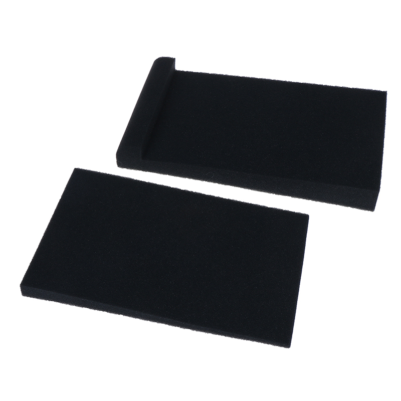 2Pcs Sponge Studio Monitor Speaker Acoustic Isolation Foam Isolator Pads