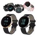 Banda de reloj pulsera inteligente de la presión arterial h09 heart rate monitor podómetro rastreador de fitness bluetooth para ios android xiaomi pk u8