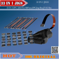 NEW 33 IN 1 GPG EASY JIGS JPIN 33IN 1 For Riff box,GPG Jtag Box,  JTAG Box Free shipping