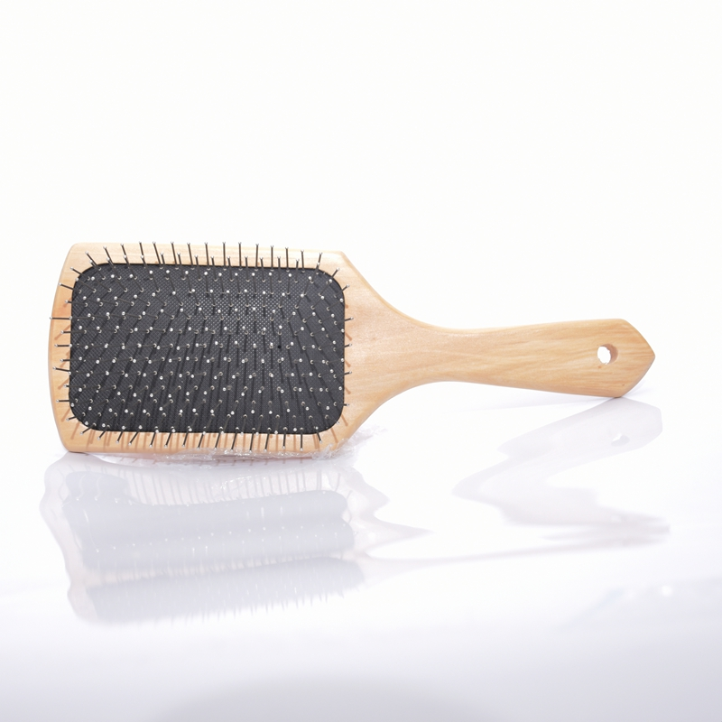 High Quality Fashion Wooden Hair Brush Wood Hair Care and Beauty SPA Massage Comb Handle Natural Bamboo Anti-static Brush S29D5 цены