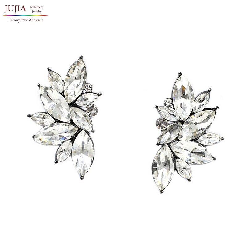 2017 new wholesale vintage design crystal earrings fashion women statement stud Earrings for women fashion earrings jewelry