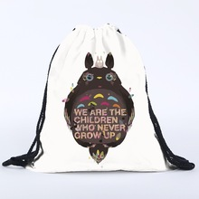 My Neighbor Totoro – Gym Sack Drawstring Shoes Bag – Style 1