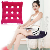 Health Care Medical Device Premium Air Inflatable Waffle Seat Cushion Heat Sealed Construction For Office Home